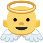 👼 Facebook / Messenger Baby Angel Emoji - Facebook Website