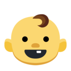 👶 Facebook / Messenger «Baby» Emoji - Facebook Website version