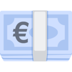 💶 Facebook / Messenger «Euro Banknote» Emoji - Facebook Website Version