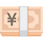 💴 Facebook / Messenger Yen Banknote Emoji - Facebook Website