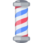 💈 Смайлик Facebook / Messenger «Barber Pole»