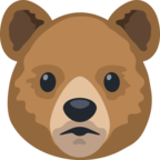 🐻 Facebook / Messenger «Bear Face» Emoji