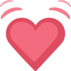 💓 Facebook / Messenger «Beating Heart» Emoji - Facebook Website version
