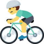 🚴 Facebook / Messenger «Person Biking» Emoji - Facebook Website version