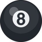 🎱 «Pool 8 Ball» Emoji para Facebook / Messenger