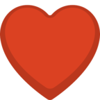 ♥ Facebook / Messenger Heart Suit Emoji - Facebook Website