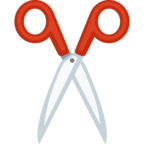 ✂ Facebook / Messenger «Scissors» Emoji