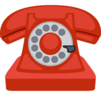 ☎ Facebook / Messenger «Telephone» Emoji