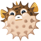 🐡 Facebook / Messenger «Blowfish» Emoji