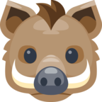 🐗 Смайлик Facebook / Messenger «Boar»