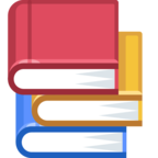 📚 Смайлик Facebook / Messenger «Books»