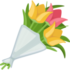 💐 Facebook / Messenger «Bouquet» Emoji