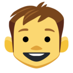 👦 Facebook / Messenger «Boy» Emoji
