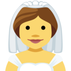 👰 Facebook / Messenger «Bride With Veil» Emoji
