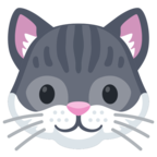 🐱 «Cat Face» Emoji para Facebook / Messenger