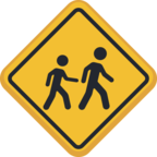🚸 Facebook / Messenger «Children Crossing» Emoji