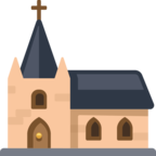 ⛪ Смайлик Facebook / Messenger «Church»