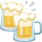 🍻 Facebook / Messenger «Clinking Beer Mugs» Emoji