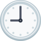 🕘 Facebook / Messenger «Nine O'clock» Emoji