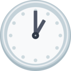 🕐 Facebook / Messenger «One O'clock» Emoji