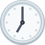 🕖 Facebook / Messenger «Seven O'clock» Emoji