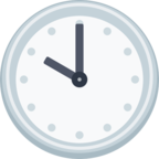 🕙 Facebook / Messenger «Ten O'clock» Emoji