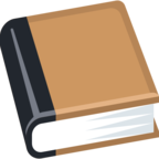 📕 Facebook / Messenger Closed Book Emoji - Facebook Website