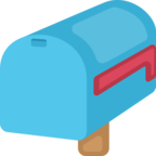 📪 Facebook / Messenger «Closed Mailbox With Lowered Flag» Emoji