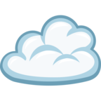 ☁ «Cloud» Emoji para Facebook / Messenger