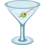 🍸 Facebook / Messenger «Cocktail Glass» Emoji