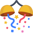 🎊 Facebook / Messenger «Confetti Ball» Emoji
