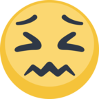 😖 Facebook / Messenger «Confounded Face» Emoji