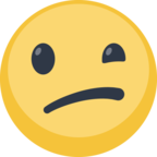 😕 Facebook / Messenger Confused Face Emoji - Site Facebook