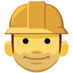 👷 Facebook / Messenger «Construction Worker» Emoji