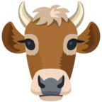 🐮 Смайлик Facebook / Messenger «Cow Face»