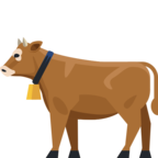 🐄 «Cow» Emoji para Facebook / Messenger
