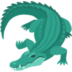 🐊 «Crocodile» Emoji para Facebook / Messenger