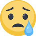 😢 Facebook / Messenger «Crying Face» Emoji
