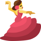 💃 Facebook / Messenger «Woman Dancing» Emoji