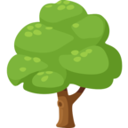 🌳 «Deciduous Tree» Emoji para Facebook / Messenger