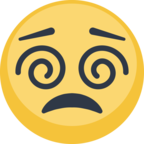 😵 Facebook / Messenger «Dizzy Face» Emoji