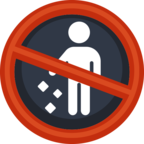 🚯 Facebook / Messenger «No Littering» Emoji