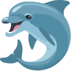 🐬 Смайлик Facebook / Messenger «Dolphin»