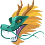 🐲 Facebook / Messenger «Dragon Face» Emoji