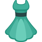 👗 Facebook / Messenger Dress Emoji - Facebook Website