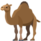 🐪 Смайлик Facebook / Messenger «Camel»
