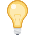 💡 Смайлик Facebook / Messenger «Light Bulb»