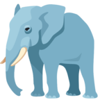 🐘 Смайлик Facebook / Messenger «Elephant»