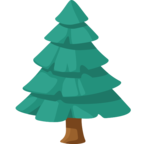 🌲 Смайлик Facebook / Messenger «Evergreen Tree»