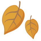 🍂 Facebook / Messenger Fallen Leaf Emoji - Facebook Website